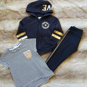 Oshkosh sweatsuit outfit